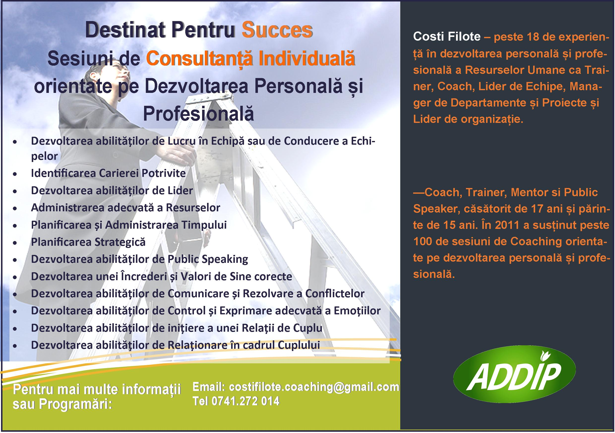 Coaching Costi Filote
